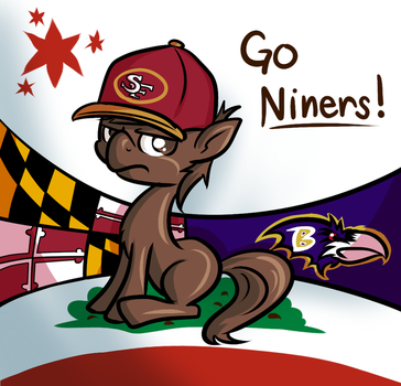 Go Niners! by SouthParkTaoist