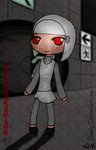 Turret Girl Collab by IHamby