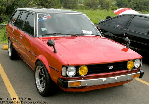 Red '80 Corolla Wagon by Mister-Lou