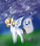 The Mistery Of The Night Star(ArtTrade) by AngelaPie