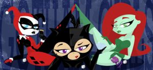 Gotham Gals by smallvillereject
