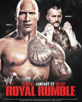 Royal Rumble Poster 2013 by isharkfeli