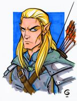 LOTR: Legolas Commission by grantgoboom