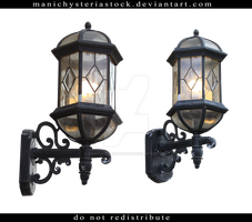 Street Lamp Cut Out 7 by ManicHysteriaStock
