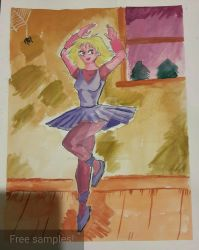 Cathy Dances by Sketch-the-Ancient