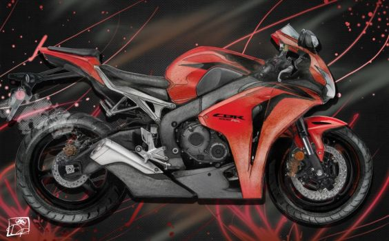 CBR 1000 RR by Dominci