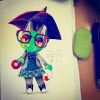 animal crossing pickle mittens by PickleMittens