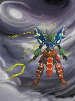 Primal Weather Trio Getter Robo by k-hots