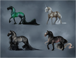 EQUINE ADOPTABLES VI - CLOSED by Rhiaan