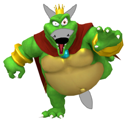 King K. Rool as the Big Bad Wolf by StevenPepi