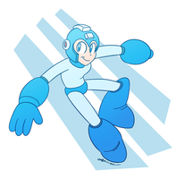 Blue Bomber by Dog22322