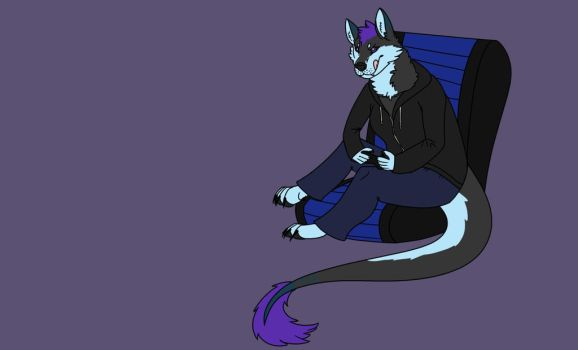 Tsuki Plays Video Games WIP by shadow21812