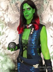 Guardians of the Galaxy - Gamora Cosplay by Lythara