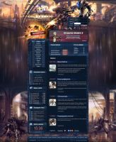 RF online site ''PlaySide'' by DattaDesign