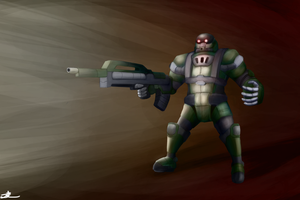 Supersoldier by ChromeFlames