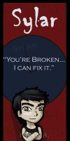 Heroes Bookmarks - Sylar by BeCeejed