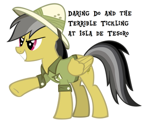 The Terrible Tickling at Isle De Tesoro (commiss) by AlmanacPony