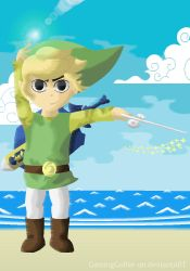 Link - The Wind Waker by GamingGolfer