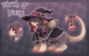 Witch of Hearts // Lymph Auction by dexikon