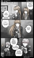 MC Prologue Pg 03 Mystic Messenger Fan Comic by MariStoryArt