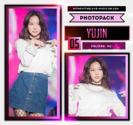 Yu Jin #4 (CLC) |PHOTOPACK| by WithoutTheLove-Music
