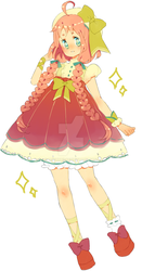 Adoptable Character Design #closed# by Hacuubii