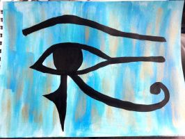 eye of horus by TaitGallery