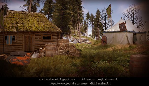 Medieval War Camp by Mick2006