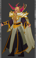 Original Invoker WIP 7 by MorellAgrysis
