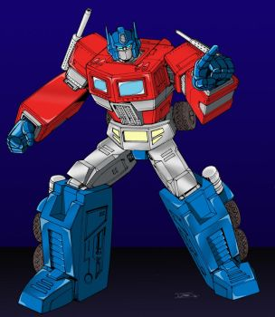 G1 Optimus colors by BDixonarts