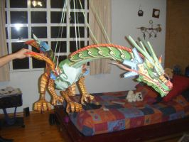 Dragon Chino Cuerpo by jc2500