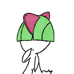 Ralts by WhiteRose1994