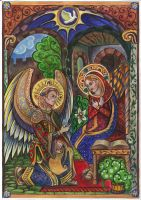 Annunciation by Ephy-Drow