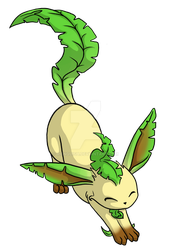 Leafeon by Rienquish