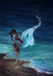 Girl Fisher and the Deep by SmallJoy