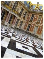 Versailles Palace Courtyard by spectropluto