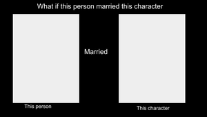 What if character marries character meme by AquaGemPrincess