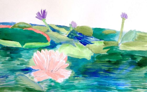 Lilly Pond by thearist2013