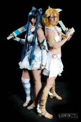 Panty and Stocking with Garterbelt, angel ver. by XxMyxWouldxX