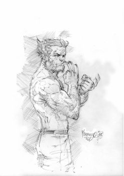 Old Dude Logan by MenguzzOArt