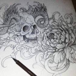 Poisonous Flower Scetch by Koggg