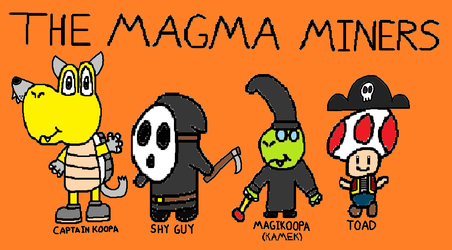 The Magma Miners - Halloween Costumes by StevenPepi