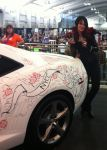 NYCC 2013 Artists Alley Camaro drawing by Dawn-McTeigue