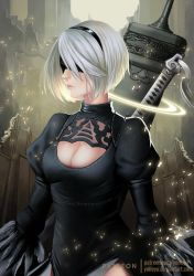 .:YoRHa NO.2 Type B:. by yoneyu