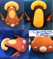 Stunfisk Pokemon Plush! Life size!