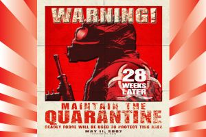 28 Weeks later poster by Sunlandictwin