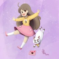 Bee and Puppycat by nyatche