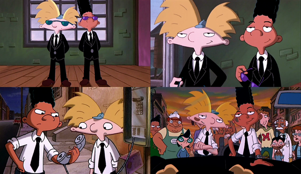 Hey Arnold - Arnold and Gerald As Secret Agents by dlee1293847