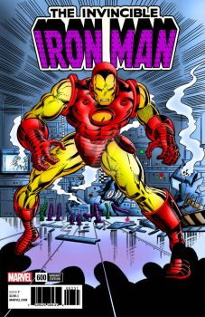 Iron Man #600   Colourised by Cotterill23
