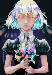 Houseki no Kuni by OXMiruku